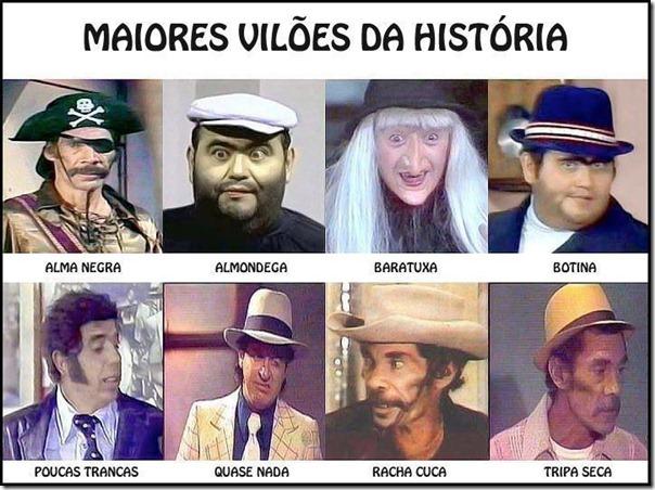 Maiores vilões da história