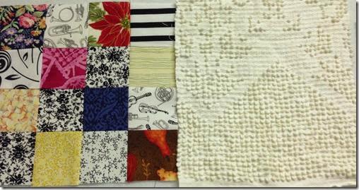 block sewn