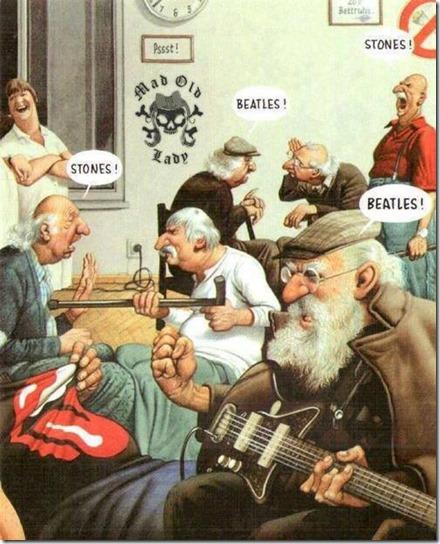Beatles x Stones