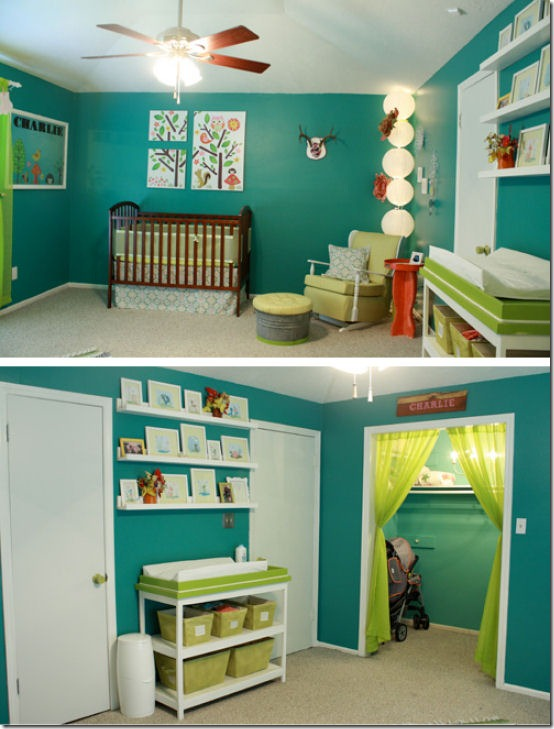 friday feature--bright and fun nursery from killer b designs blog