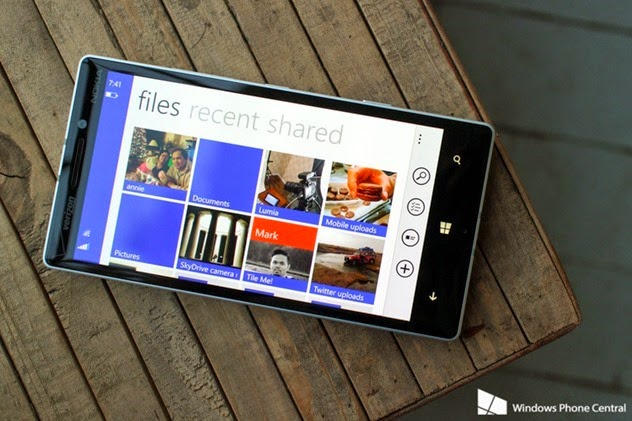 OneDrive para Windows Phone