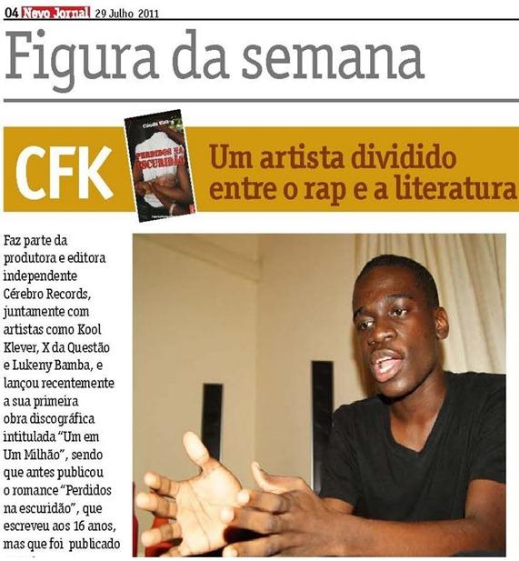 CFK No Novo Jornal [By Cenas!!!]
