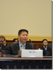 ChinaAid president Bob Fu testifying at House Foreign Relations Committee hearing on China
