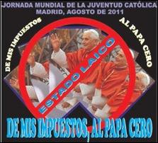 protesto Papa na Espanha 02