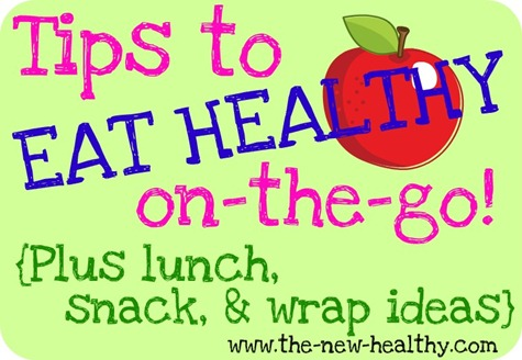 tips to eat healthy