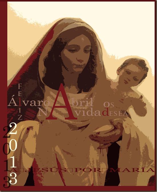 FELICITACION DE NAVIDAD DEL BLOG DE ALVARO ABRIL VELA ARTE COFRADE 2012 2013