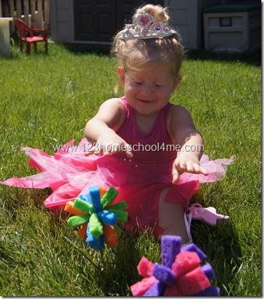 Toddler Outdoor Play activity