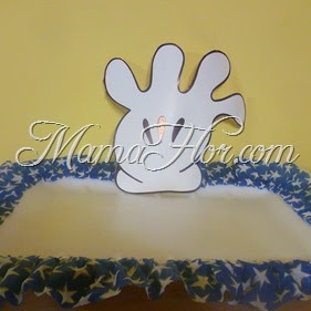 Como decorar las bandejas de Mickey