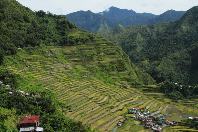 Batad Rice Terraces, Philippines - 8th wonder of the world