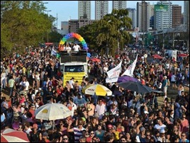 Parada Gay Bauru 2012