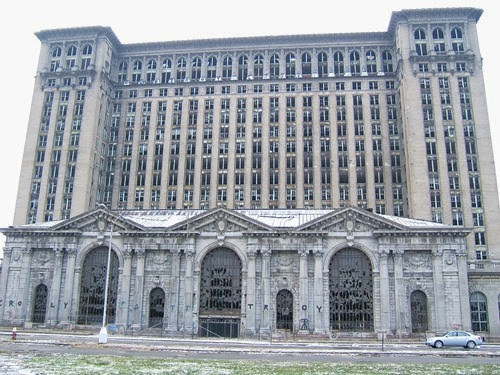 Michigan Central Station Abandoned