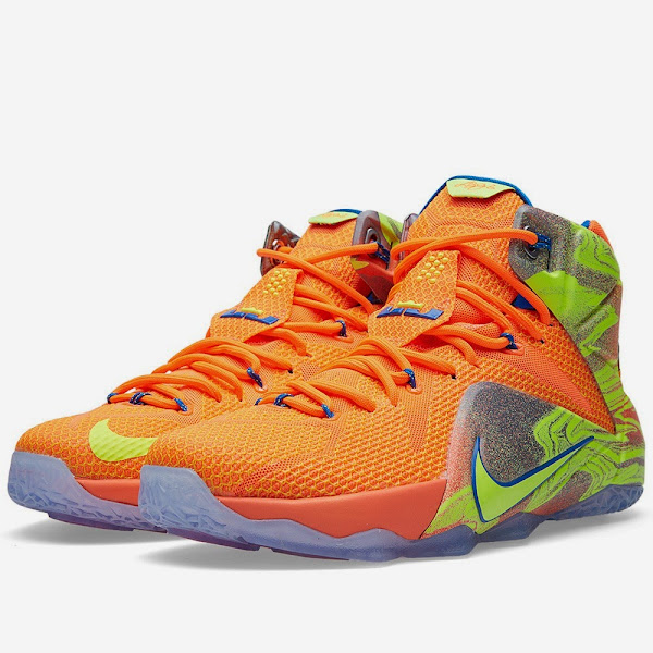 Release Reminer Nike LeBron 12 XII 8220Six Meridians8221