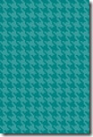 iPhone Wallpaper - Teal Blue Houndstooth - Sprik Space