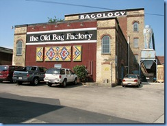 4244 Indiana - Goshen, IN - Lincoln Highway (Chicago Ave) - 1896 The Old Bag Factory (formerly Chase Bag Company)