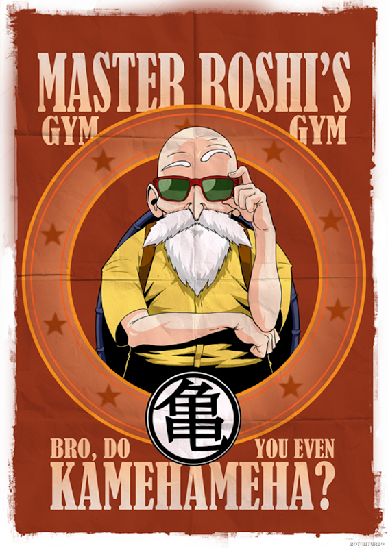 Gimnasio del maestro Roshi
