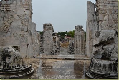Didyma overlooking inner sanctum area