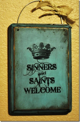SINNER AND SAINTS