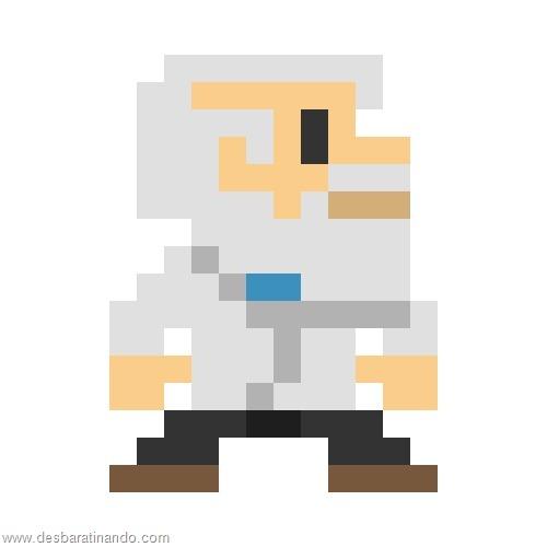 super herois e viloes em 8 bits megaman (5)