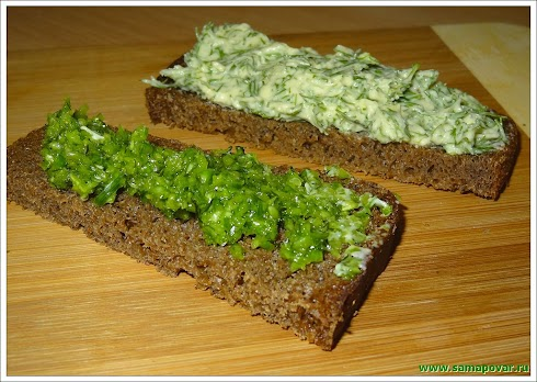 Паста бутербродная. www.samapovar.ru