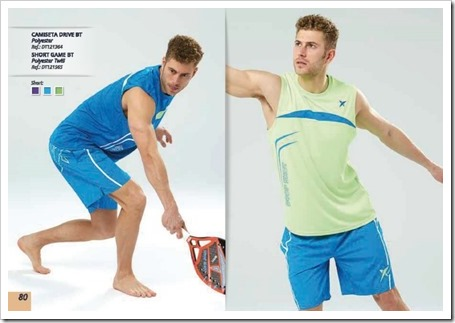 Textil Chico Drop Shot Tenis Playa / Beach Tennis / 2015 -2