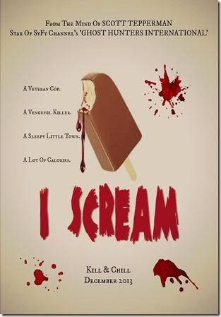 i scream poster