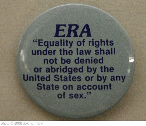 'The Equal Rights Amendment' photo (c) 2008, dbking - license: http://creativecommons.org/licenses/by/2.0/
