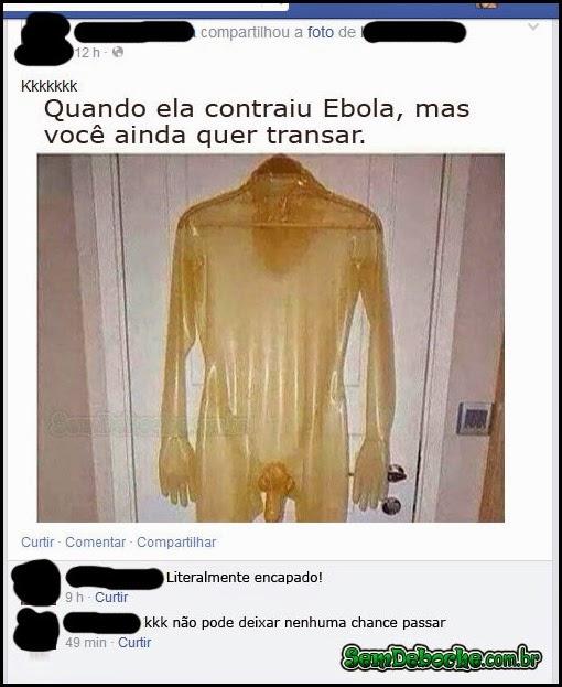 HUMOR NEGRO #43 - PROTEGIDO CONTRA O EBOLA!