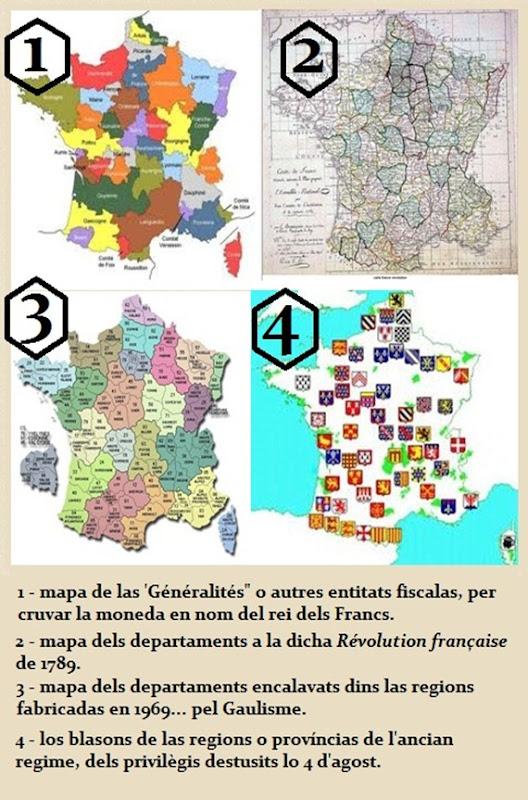mapas amassadas França