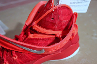 nike zoom soldier 8 ss red white 1 06 Detailed Look at Nike Zoom LeBron Soldier 8 Sample