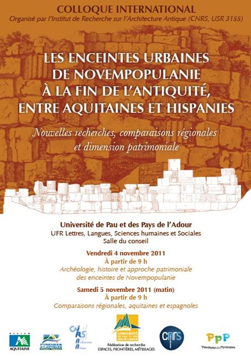 Colloque International Histoire Pau