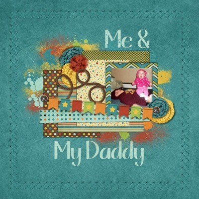 Leaving a Legacy Designs - Dad - Me & My Daddy