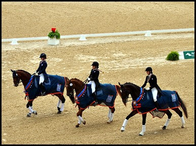 10c - Team Dressage - Victory Lap