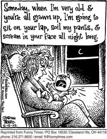 Mum sacrifice cartoon