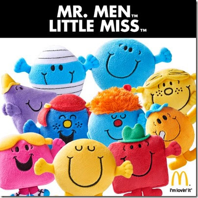 Mcdonald's Collectible - MR MEN & LITTLE MISS