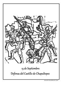 Aniversario de la Defensa del Castillo de Chapultepec. 1
