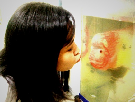 me and the fish