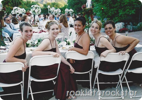 Bridesmaids - Head Table
