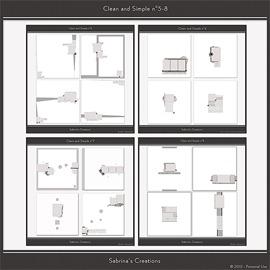 Clean and Simple n°5-8