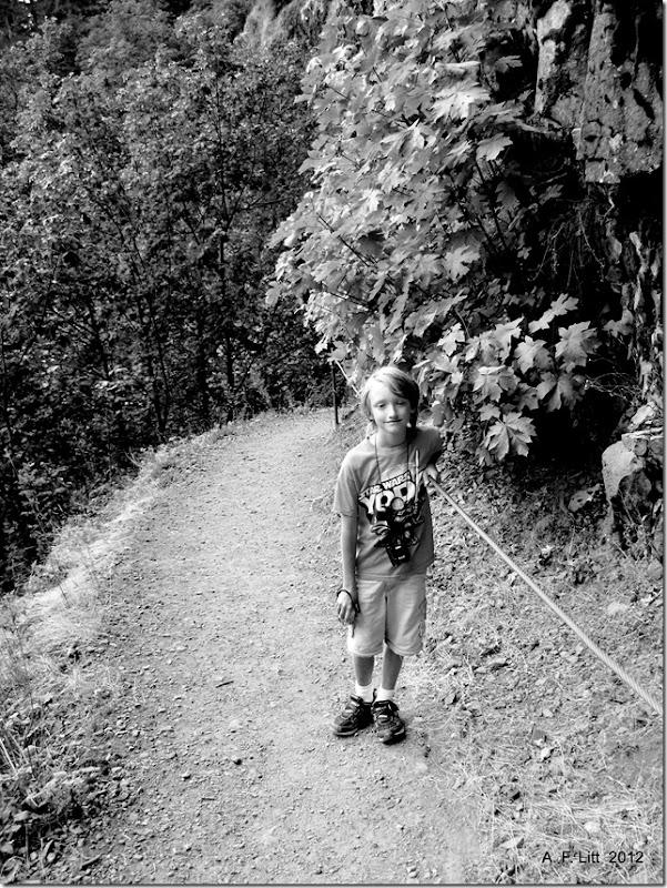 Eagle Creek Trail.  Columbia River Gorge, Oregon.  September 14, 2008