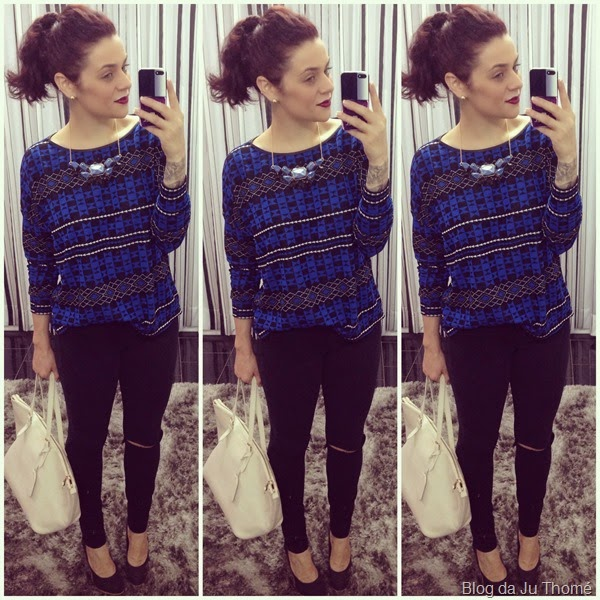 look blusa colcci e jeans black (2)