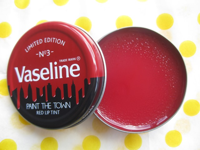Vaseline Paint the Town Red-limited-edition