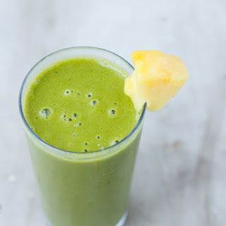 How to Fight a Cold- Cold Buster Green Smoothie