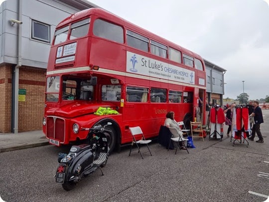 St Lukes Hospice Routemaster double decker bus