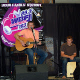 WBFJ Local Flavors Summer Concert Series - Brandon Kelley - Jordan Connell - Food Court - Hanes Mall