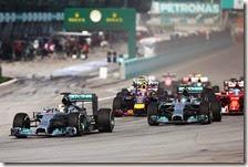 Hamilton vince gran premio della Malesia 2014