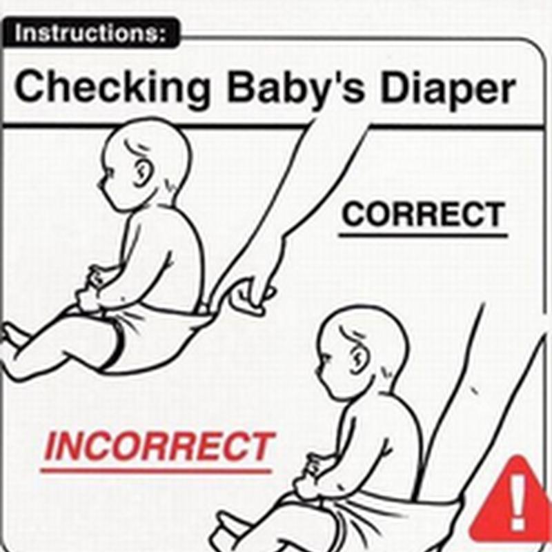 [Humor]Guía de cuidado de bebés para padres principiantes