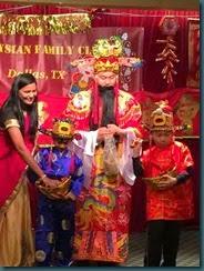 达拉斯市马来西亚联谊会新春团拜财神到.
