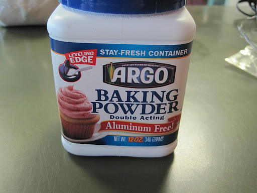 Add in 3 1/2 teaspoons of baking powder