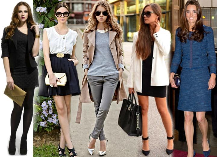 looks estilo classico moda feminina