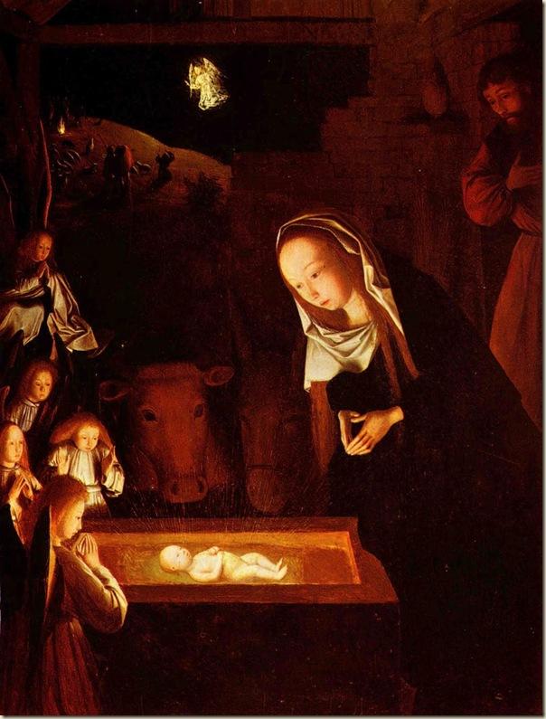 Campin, Nativité